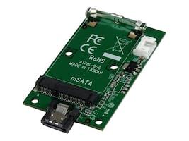 StarTech.com SATA to mSATA SSD Adapter – Port Mounted SATA to Mini SATA Converter Card, SAT32MSATM, 16643473, Adapters & Port Converters