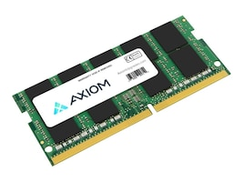 Axiom 16GB PC4-21300 260-pin DDR4 SDRAM SODIMM for Select ZBook Models, 4UY12AA-AX, 36253931, Memory