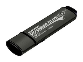 Kanguru™ 32GB Defender Elite 300 (Encrypted USB), KDFE300-32G, 24870772, Flash Drives