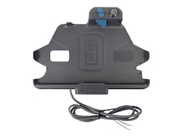 Gamber-Johnson Dock for Galaxy Tab Active2 w Bare Wire Adapter, 7160-1029-00, 35380218, Docking Stations & Port Replicators
