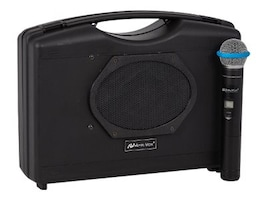 AmpliVox Wireless Audio Portable Buddy w  Wireless Handheld Microphone, SW223A, 35984020, Public Address (PA) Systems