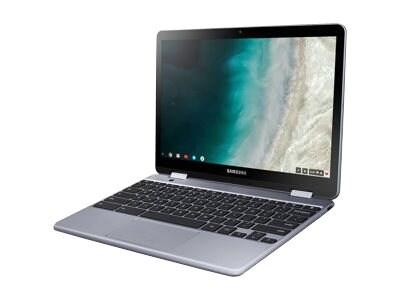 Samsung Chromebook Plus Celeron 3965Y 1.5GHz 4GB 32GB eMMC ac BT 2xWC 12.2 FHD MT Chrome OS Silver, XE521QAB-K01US, 36115475, Notebooks