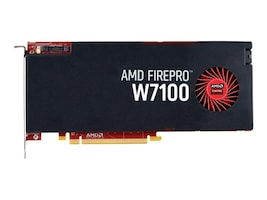 Sapphire FirePro W7100 PCIe 3.0 x16 Graphics Card, 8GB GDDR5, 100-505975, 32061473, Graphics/Video Accelerators