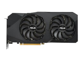 Asus DUAL-RX5700-O8G-EVO Main Image from Front