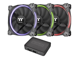 Thermaltake Riing 12 RGB Fan TT Premium Edition, CL-F049-PL12SW-A, 32585331, Cooling Systems/Fans