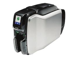Zebra ZC300 QuikCard Dual Sided USB Ethernet ID Printer Solution w  US Cord, Webcam, PVC Cards & Ribbon, ZC32-000CQ00US00, 36703630, Printers - Card