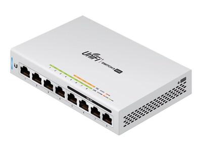 Ubiquiti UniFi 8-Port 60W Switch, US-8-60W, 33532628, Network Switches