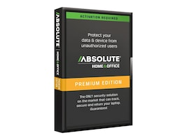 Absolute Software Computrace LoJack for Laptops Premium 3yr Susbcription, LJP-RE-P5-WIN-36, 8977705, Software - Utilities