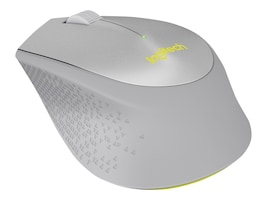Logitech M330 Silent Plus Wireless Mouse, Gray Yellow, 910-004908, 32653946, Mice & Cursor Control Devices