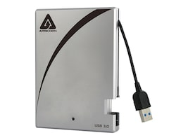Apricorn 500GB Aegis USB Portable Hard Drive w  Integrated Cable, A25-3USB-500, 16011716, Hard Drives - External