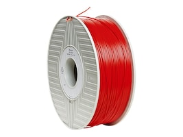 Verbatim Red 1.75mm 1kg ABS 3D Filament, 55003, 30788265, Printer Supplies - 3D