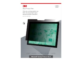 3M Privacy Filter for Surface Pro 3 Pro 4, Landscape, PFTMS001, 30889744, Glare Filters & Privacy Screens