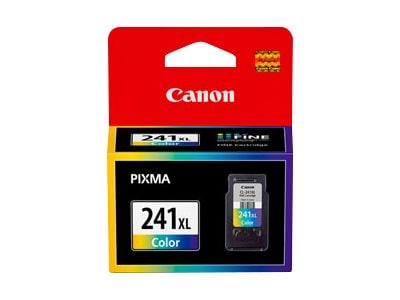 Canon Color CL-241XL Extra Large Ink Cartridge, 5208B001, 13365754, Ink Cartridges & Ink Refill Kits - OEM