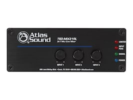 Atlas Sound 3 X 1 Mic Line Mixer, TSD-MIX31RL, 36153691, Stereo Components