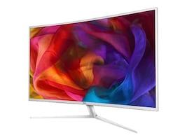 AOC 40 C4008VU8 4K Ultra HD LED Curved Display, White, C4008VU8, 33569834, Monitors - Large Format