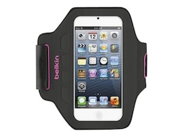 Belkin EaseFit Armband for iPod Touch 5, Day Glow, F8W149TTC01, 32660249, Carrying Cases - iPod