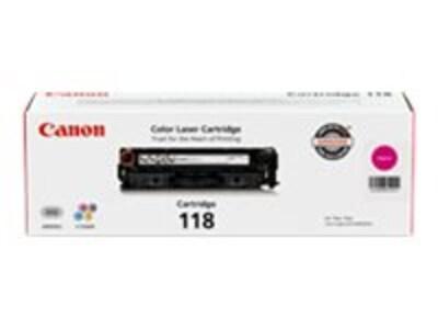 Canon Magenta 118 Toner Cartridge for imageClass MF8350Cdn, 2660B001, 10195876, Toner and Imaging Components - OEM