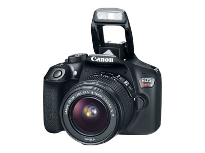 Canon EOS Rebel T6 DSLR Camera Kit with 18-55mm and 75-300mm Lenses, 1159C008, 34068687, Cameras - Digital