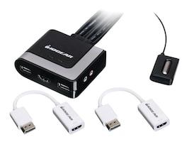 Aten 2-Port HDMI KVM w  DisplayPort, GCS62HDPKIT, 33765077, KVM Switches