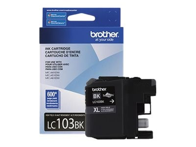 Brother Black LC103BK Innobella High Yield (XL Series) Ink Cartridge for MFC-J4510DW, LC103BK, 14714856, Ink Cartridges & Ink Refill Kits - OEM