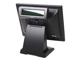 Pos-X ION Integrated Rear VFD Serial, for ION TP2 & TM2, ION-RD2-VFD, 16022183, POS Pole Displays