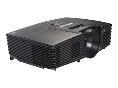 InFocus IN112XV SVGA 3D DLP Projector, 3400 Lumens, Black, IN112XV, 34696974, Projectors