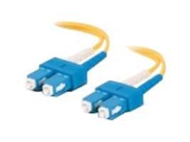 Netpatibles SC-SC OS1 OS2 Singlemode Fiber Cable, 10m, FDEBUBUV3Y10M-NP, 32192473, Cables