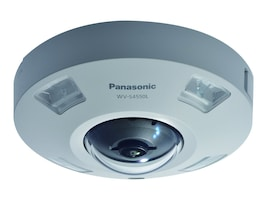 Panasonic 5MP iPro Extreme Outdoor Network Dome Camera with Night Vision & Fisheye Lens, WV-S4550L, 37622090, Cameras - Security
