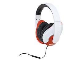Syba OBLANC Shell Audio 2.0 Stereo Headphones w  Mic, OG-AUD63046, 32918262, Headsets (w/ microphone)