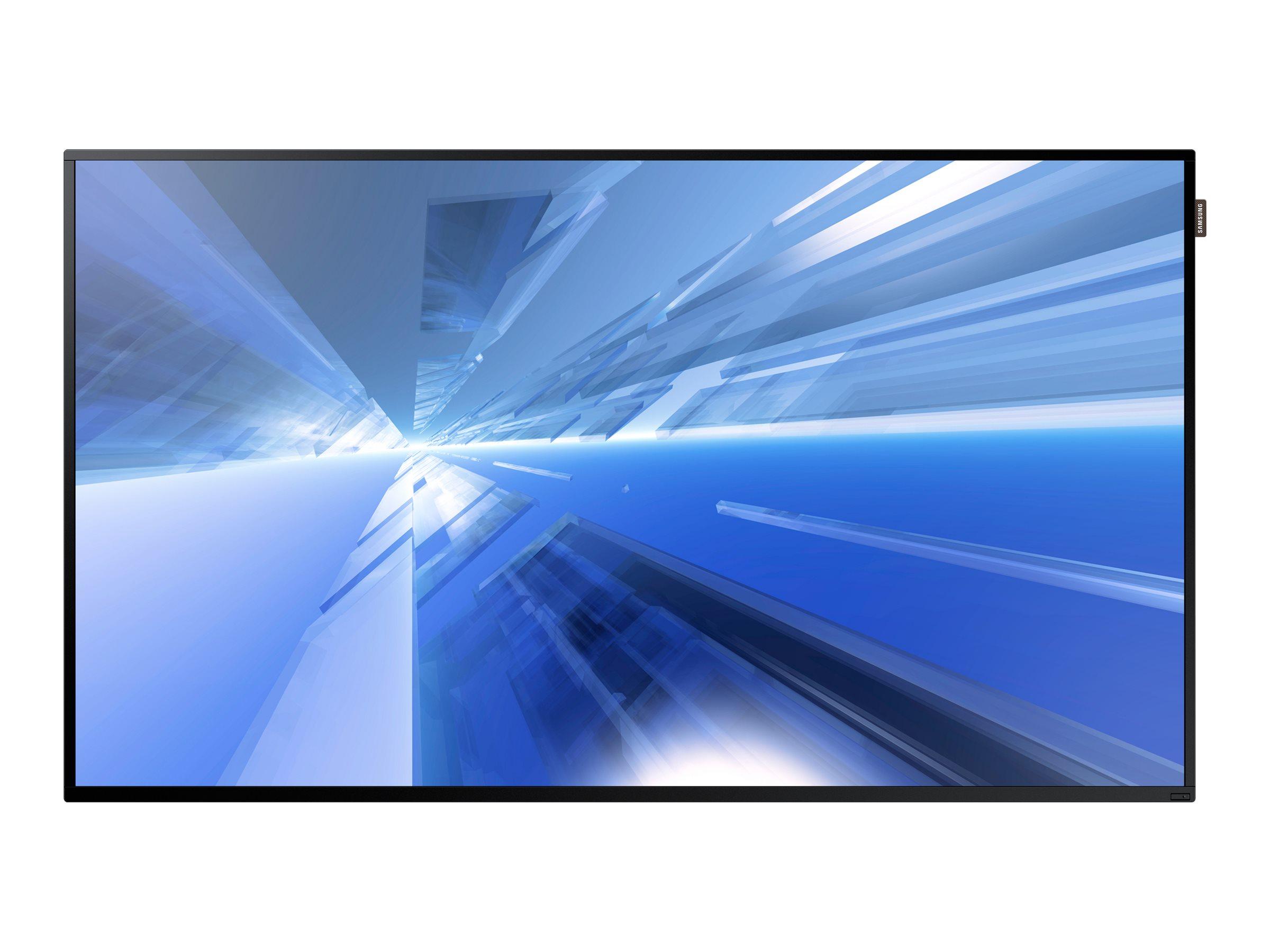 Samsung 55 DM-E Full HD LED-LCD Display, Black, DM55E, 22251476, Monitors - Large Format