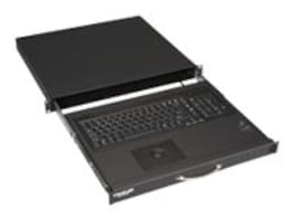Black Box Rackmount Keyboard w  Trackball, 19w x 18.3d, RM418-R4, 32877077, Keyboard/Mouse Combinations