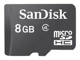SanDisk 8GB High Capacity microSDHC Card, Class 2, SDSDQM-008G-B35, 13672164, Memory - Flash