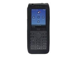 Zcover Tech Leather Case w Metal Clip, Black Dock-in-case for Cisco 8821 8821-EX, CI821LJK, 33181848, VoIP Phones