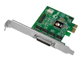 Siig DP CyberSerial 4S PCIe Card, JJ-E40011-S4, 35000810, Controller Cards & I/O Boards