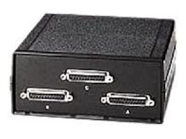 Black Box 2 position A B Switch, 25 Leads, Serial or Parallel (for PC Users), SWL025A-FFF, SWL025A-FFF, 439498, Switch Boxes