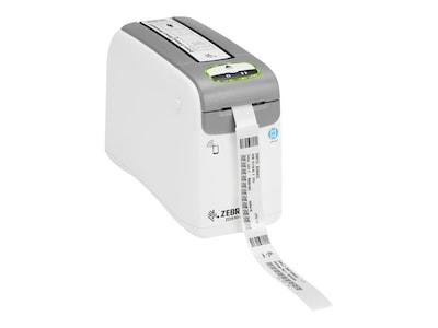 Zebra ZD510 ZPL II XML 300dpi USB Ethernet BT Wristband Printer w  US Cord, ZD51013-D01E00FZ, 36242950, Printers - Label