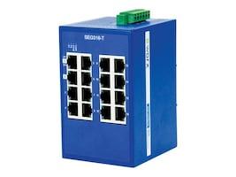 B+B SmartWorx 16-Port GbE Switch, SEG316-T, 31909743, Network Switches