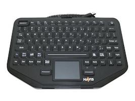 Havis Havis Rggd Kybd-Intgrtd TchPad, KB-108, 37729962, Keyboards & Keypads