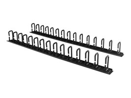 StarTech.com Vertical Cable Organizer with D-Ring Hooks, 0U, 6ft, CMVER40UD, 32999779, Rack Cable Management