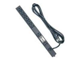 Middle Atlantic Vertical PDU 115V 10ft. Cord, PD-815SC-NS, 8730702, Power Distribution Units