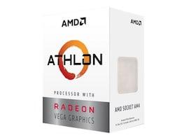 AMD Processor, AMD DC Athlon 3000G 3.5GHz 4MB L3 Cache 35W 2667MHz, YD3000C6FHBOX, 37900230, Processor Upgrades
