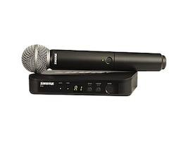 Shure BLX24R SM58-H10 Vocal System with (1) BLX4R Ra, BLX24R/SM58-H10, 36800456, Microphones & Accessories