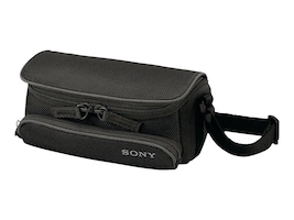 Sony Compact Soft Case for Handycam, Black, LCSU5, 12467370, Carrying Cases - Camera/Camcorder