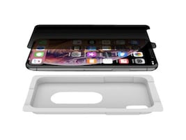 Belkin GLASS,EZ TRAY,APPLE,XS X,PRIVACY, F8W924ZZ, 37789527, Carrying Cases - Other