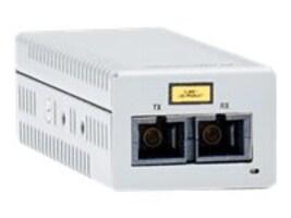 Allied Telesis 1000T TO 1000X SC Desktop Mini Converter  US PWR TAA, AT-DMC1000/SC-90, 19551726, Network Transceivers