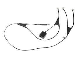 Jabra MSH Adapter Cable for 9350 9120, 14201-09, 8497285, Adapters & Port Converters