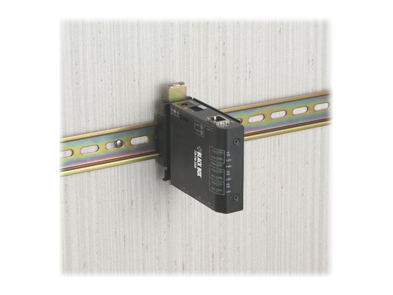 Black Box Fast Ethernet Hardened Media Converter Switch