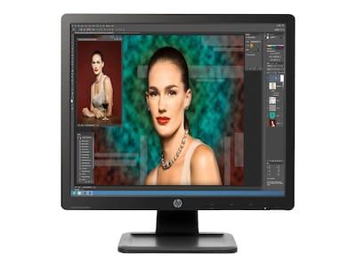 HP 19 P19A LED-LCD Monitor, Black, D2W67A8#ABA, 15647894, Monitors