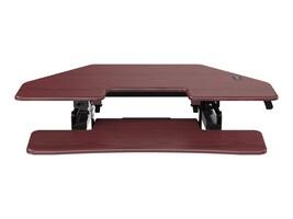 Loctek 41 Sit-Stand Corner Riser, Mahogany, LXR41M, 35711128, Furniture - Miscellaneous