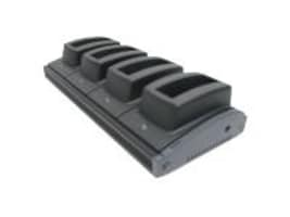 Unitech 4-Slot Battery Charger with Dock for PS630, 5100-601030, 6231811, Battery Chargers